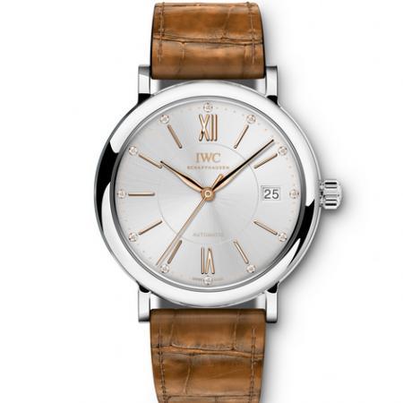 V7厂一比一复刻万国柏涛菲诺系列IW458101日历女士机械手表
