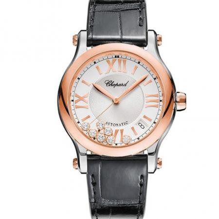 ZF厂顶级复刻萧邦快乐七钻系列278559-6001女士机械腕表