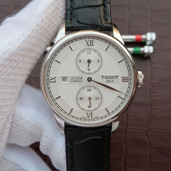 VF厂天梭T-CLASSIC力洛克系列T006.428.16.058.02男士机械手表