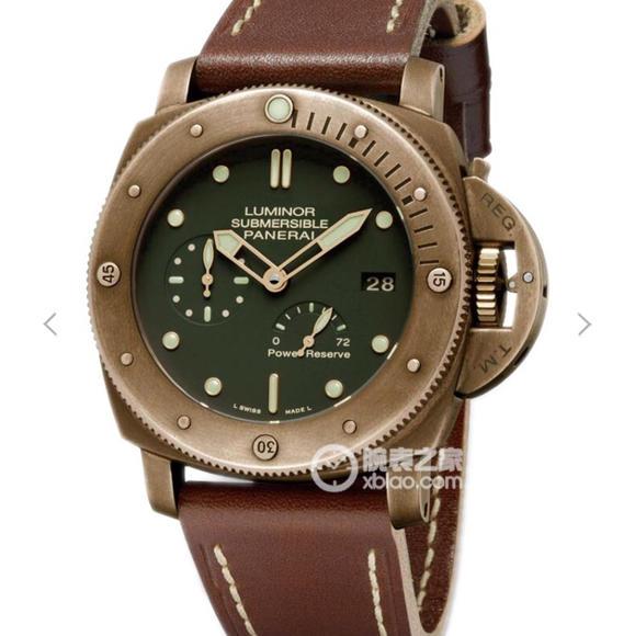XF厂沛纳海PAM507男士机械手表 五点位置动能显示