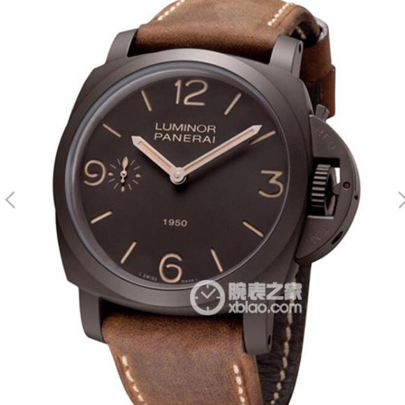 XF沛纳海pam375男士手动机械手表 大块头47毫米专用