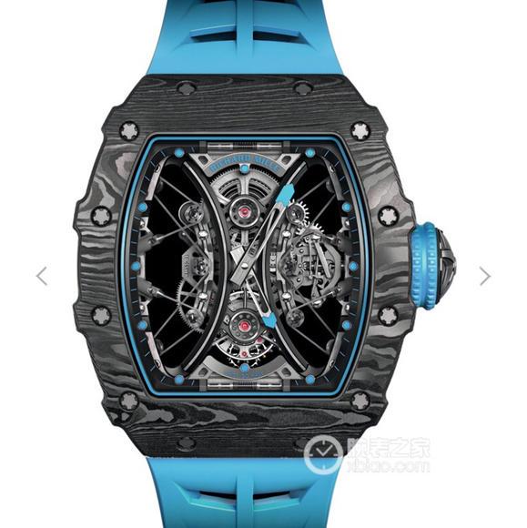KV理查德米勒【RICHARD MILLE】RM53-01 这款腕表充满动感与活力