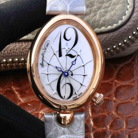 宝玑那不勒斯女表,高品质女士机械腕表