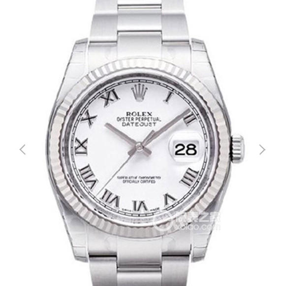 AR厂劳力士ROLEX DATEJUST日志型腕表 904钢副本的十年精华