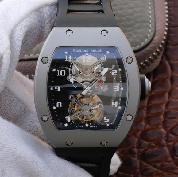 JB厂理查德?米勒RM001真陀飞轮机芯手表