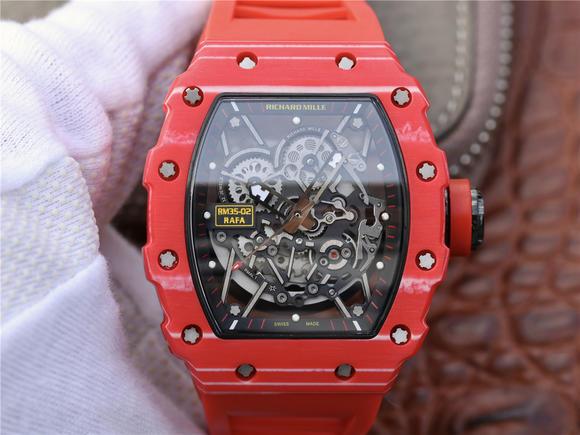 RM理查德米勒Richard mille RM35-02系列碳纤维系列男士手表