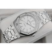 一比一高仿 爱彼 皇家橡树系列男表 手表 自动机械 透底 白面