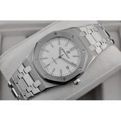 一比一高仿 爱彼皇家橡树系列男表 手表 自动机械 透底 白面 条丁刻度