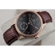 高仿手表 一比一 万国IWC马克系列 琼斯限量版自动机械手表 男表 镶钻款 玫瑰金刻度